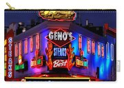 Cheesesteak Heaven Carry-all Pouch by Benjamin Yeager