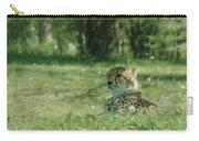 Cheetah At Attention Carry-all Pouch