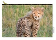 Cheetah Cub Looking Your Way Carry-all Pouch