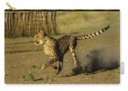 Cheetah On The Run Carry-all Pouch