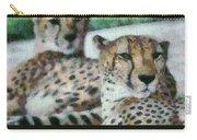 Cheetah Portrait Carry-all Pouch