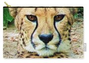 Cheetah Stare L Carry-all Pouch