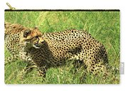 Cheetahs Running Carry-all Pouch