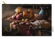 Chef - Food - A Tribute To Rembrandt - Apples And Rolls  Carry-all Pouch