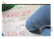 Chemistry Formulas In Science Research Lab Carry-all Pouch