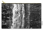 Cherokee Falls In Monochrome Carry-all Pouch
