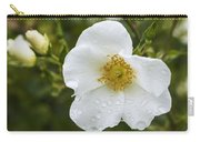 Cherokee Rose With Rain Drops Carry-all Pouch