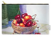 Cherries Carry-all Pouch by Irina Sztukowski