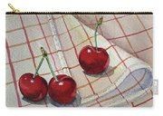 Cherry Talk By Irina Sztukowski Carry-all Pouch