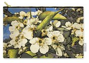 Cherry Blooms Carry-all Pouch