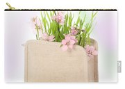 Cherry Blossom Carry-all Pouch by Amanda Elwell