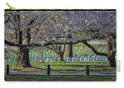 Cherry Blossoms Adorn Arlington National Cemetery Carry-all Pouch