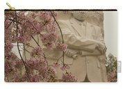 Cherry Blossoms At The Martin Luther King Jr Memorial Carry-all Pouch
