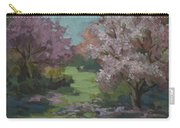 Cherry Blossoms Carry-all Pouch