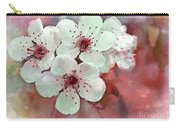 Apple Blossoms In Soft Pink - Digital Paint Carry-all Pouch