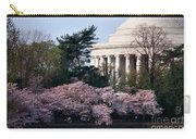 Cherry Blossoms Jefferson Memorial Carry-all Pouch