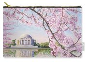 Jefferson Memorial Cherry Blossoms Carry-all Pouch