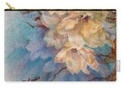 Cherry Blossoms N Lace Carry-all Pouch