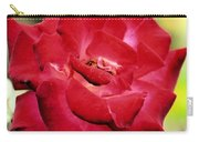 Cherry Cream Rose Carry-all Pouch