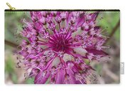 Cherry-queen Of The Prairie Flower Carry-all Pouch