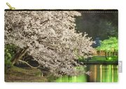 Cherry Blossom Temple Boat Carry-all Pouch