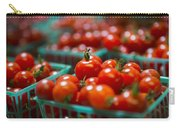 Cherry Tomatoes Carry-all Pouch by Caitlyn  Grasso
