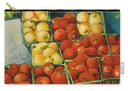 Cherry Tomatoes Carry-all Pouch by Jen Norton