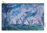 Cherry Trees Impressionism Carry-all Pouch