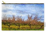 Cherry Trees With Blue Sky Carry-all Pouch