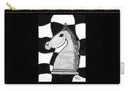 Chess Knight Carry-all Pouch