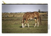 Chestnut In The Pasture Carry-all Pouch