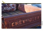 Chevrolet Apache 31 Pickup Truck Tail Gate Emblem Carry-all Pouch