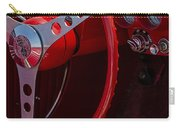 Chevrolet Corvette Red 1962 Carry-all Pouch