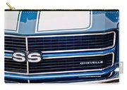 Chevrolet Chevelle Ss Grille Emblem 2 Carry-all Pouch by Jill Reger
