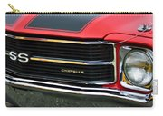 Chevrolet Chevelle Ss Grille Emblem Carry-all Pouch