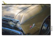 Chevrolet Chevelle Ss Headlight Emblems Carry-all Pouch