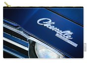 Chevrolet Chevelle Ss Hood Emblem Carry-all Pouch