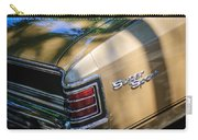 Chevrolet Chevelle Ss Taillight Emblems Carry-all Pouch