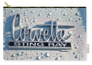 1966 Chevrolet Corvette Sting Ray Emblem -0052c Carry-all Pouch
