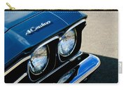 Chevrolet El Camino Hood Emblem - Head Lights Carry-all Pouch