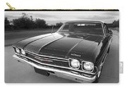 Chevrolet El Camino In Black And White Carry-all Pouch