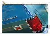 Chevrolet El Camino Taillight Emblem Carry-all Pouch