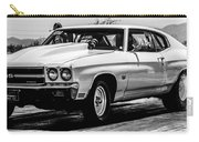Chevy Chevrolet Chevelle Ss Burning Rubber Carry-all Pouch