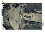 Arroyo Seco Chevy In Silver Carry-all Pouch