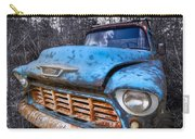 Chevy In The Woods Carry-all Pouch by Debra and Dave Vanderlaan