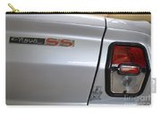 Chevy Nova Ss Emblem And Tail Light Carry-all Pouch