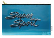 Chevy Super Sport II Emblem Carry-all Pouch