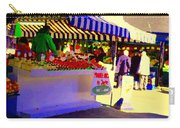 Chez Nino At Marche Jean Talon Montreal A Taste Of Culinary Culture  Food Art Scenes Carole Spandau  Carry-all Pouch