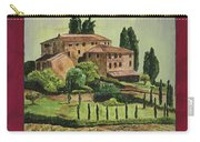 Chianti And Friends Collage 1 Carry-all Pouch by Debbie DeWitt