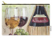 Chianti And Friends Carry-all Pouch by Debbie DeWitt